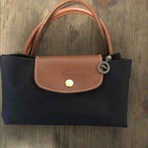 Longchamp top handle bag medium